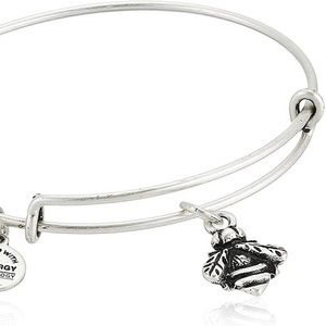 Alex and Ani Silver Bumblebee Charm Bracelet